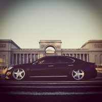 photo wallpaper with car